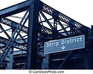 bande, district