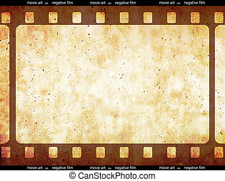 bande film, espace