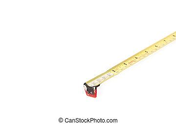 bande, mesurer