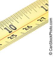 bande, mesurer, section