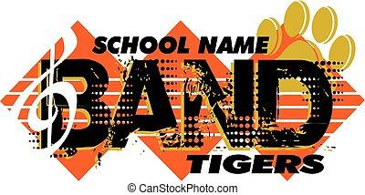 bande, tigres