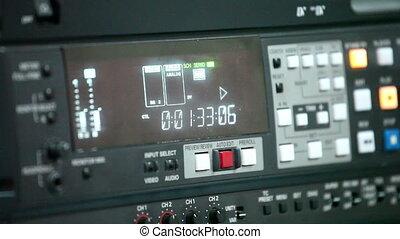 bande vidéo, 1, enregistreur