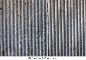 bande, zinc, mur