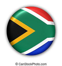 bandeira, áfrica, sul