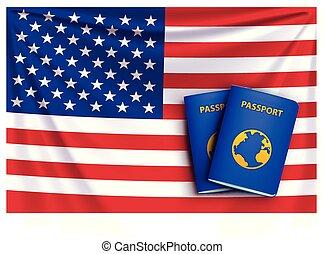 bandeira, 01, passaporte