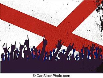 bandeira alabama, audiência, estado