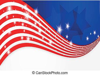 bandeira americana, fundo