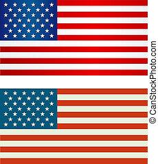 bandeira, americano