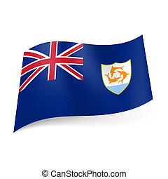 bandeira, anguilla