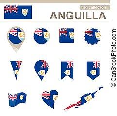 bandeira, anguilla, cobrança