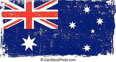 bandeira austrália, vetorial