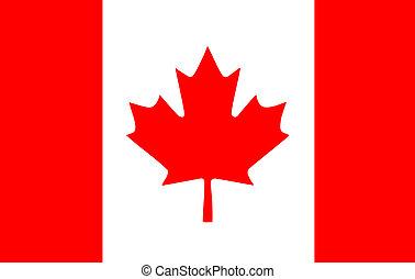 bandeira, canadense