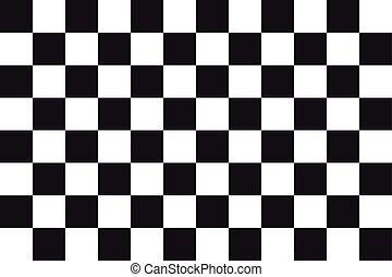 bandeira checkered, cor, vetorial, tamanho, correndo,...