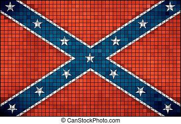 bandeira confederada