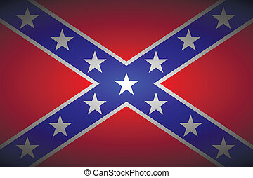 bandeira, confederado