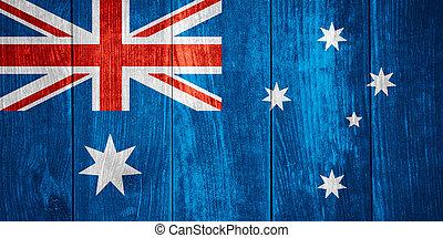bandeira, de, austrália