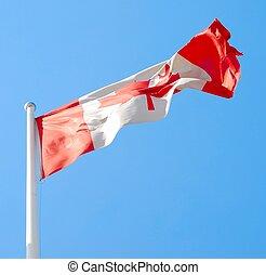 bandeira, de, canadá