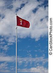 bandeira, de, gdansk