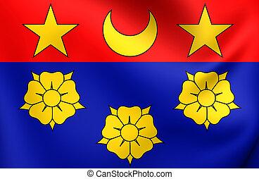 bandeira, de, longueuil, canada.