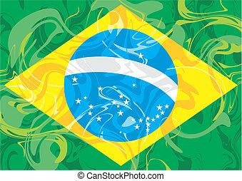 brasil - bandeira do brasil vetor