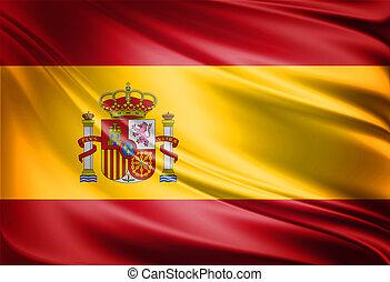 bandeira, espanha