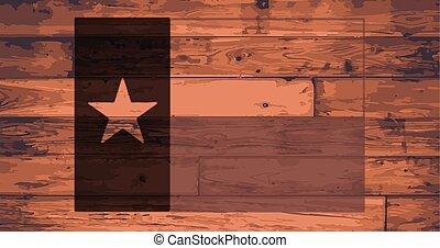 bandeira estado texas, marca
