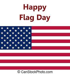 bandeira, estados unidos, vetorial, ilustração