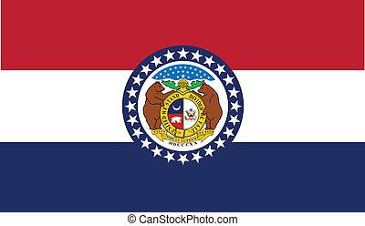 bandeira estatal, missouri