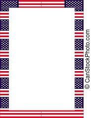 bandeira eua, cartaz