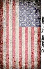 bandeira eua, grunge