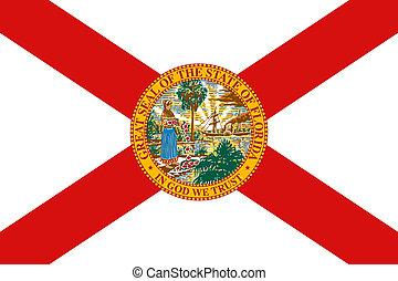 bandeira, flórida