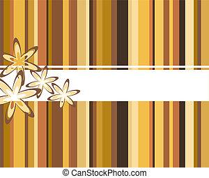 bandeira floral