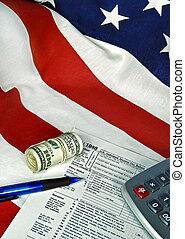 bandeira, forma, renda