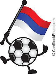 bandeira, futebol