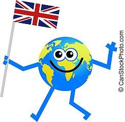 bandeira, globo