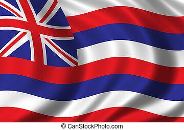 bandeira, havaí
