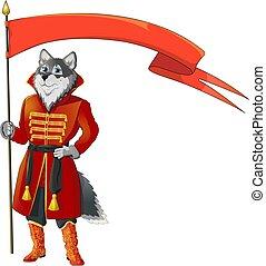 bandeira, lobo