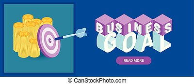 bandeira, meta, negócio