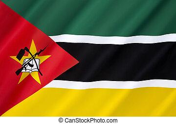 bandeira, moçambique