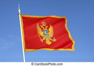 bandeira, montenegro