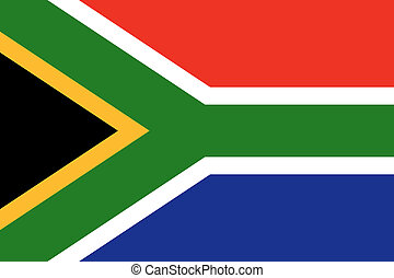 bandeira nacional, áfrica sul