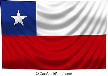 bandeira nacional, chile