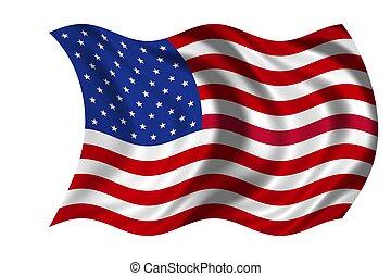 bandeira nacional, eua