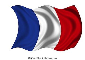 bandeira nacional, frança