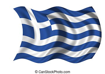 bandeira nacional, grécia