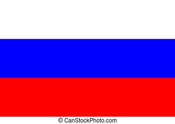 bandeira nacional, rússia