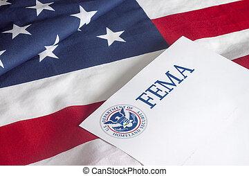 bandeira, segurança, pátria, nós, fema
