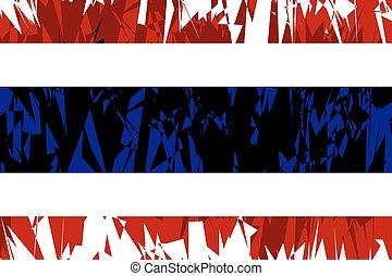 bandeira, thailand.
