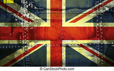bandeira união, grunge, macaco