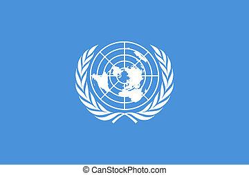 bandeira unida nações